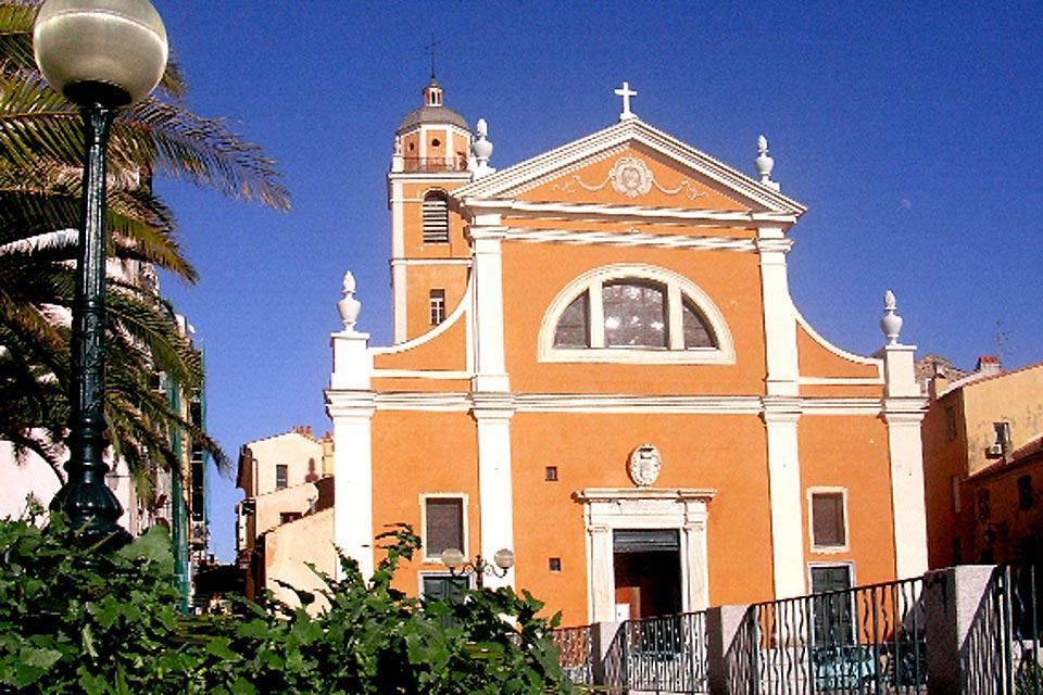 La cathédrale d'Ajaccio , France