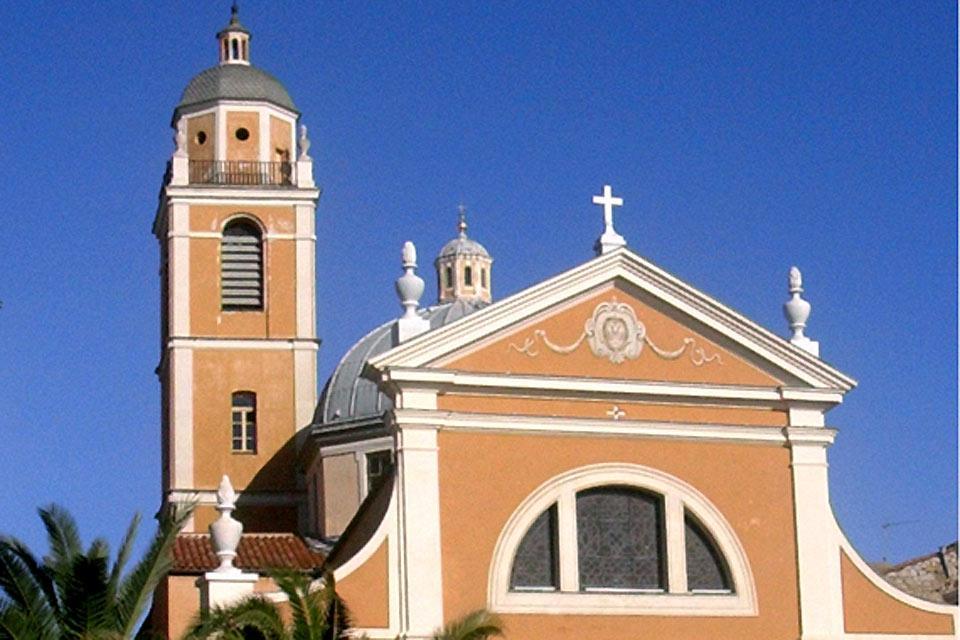 La catedral de Ajaccio , Francia
