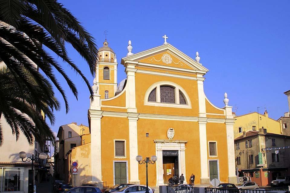 La cathédrale d'Ajaccio , Notre-Dame-de-l'Assomption d'Ajaccio , France