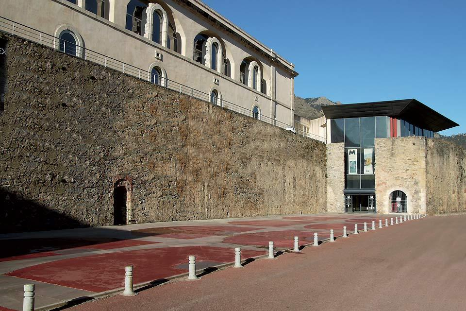 Museum of Corsica in Corte , Entrance to the Museum of Corsica in Corte , France