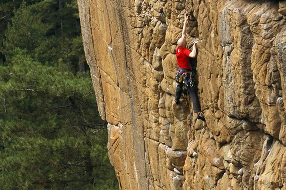 Xtrem Sud , Climbing at dizzy heights , France