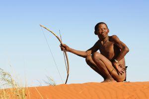 Los sans , La población San , Sudáfrica