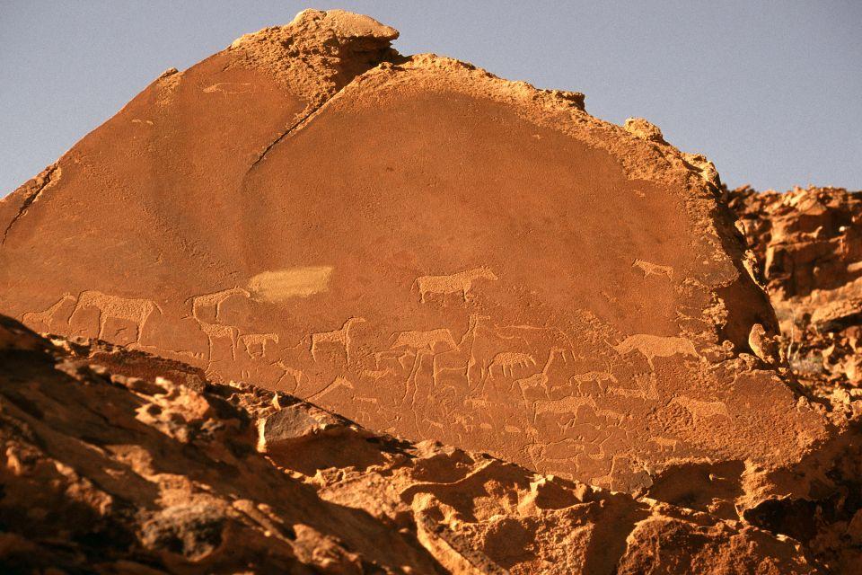 Les arts et la culture, afrique, afrique du sud, bush, bushman, désert, ethnie, chasse, chasseur, gravure, rupestre, gibier
