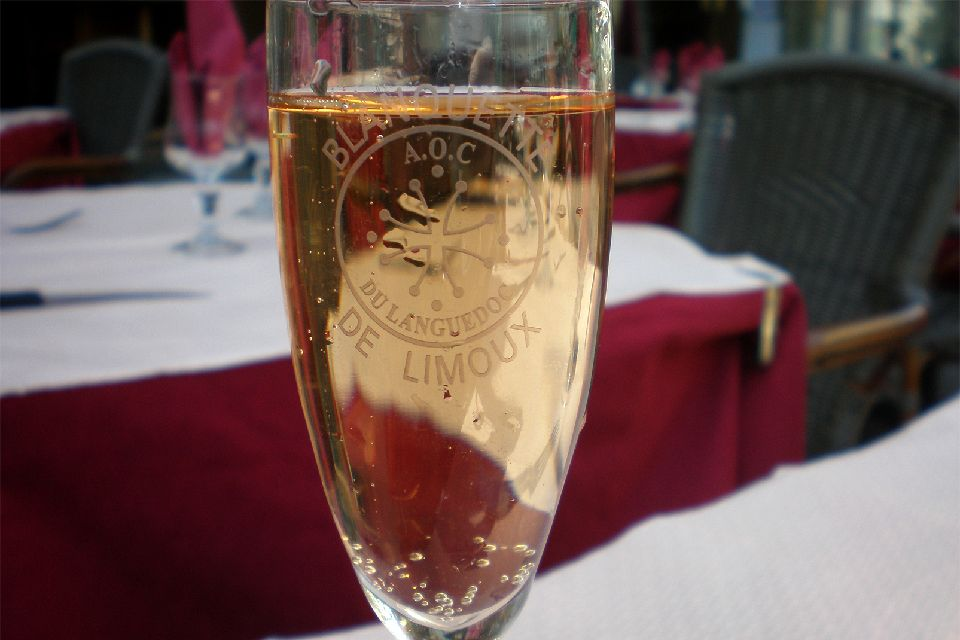 Blanquette de Limoux , White Limoux and red Limoux , France