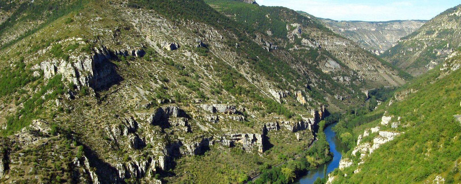 Les bateliers de la Malène , France