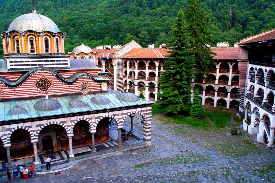 The Rila monastery , Bulgaria
