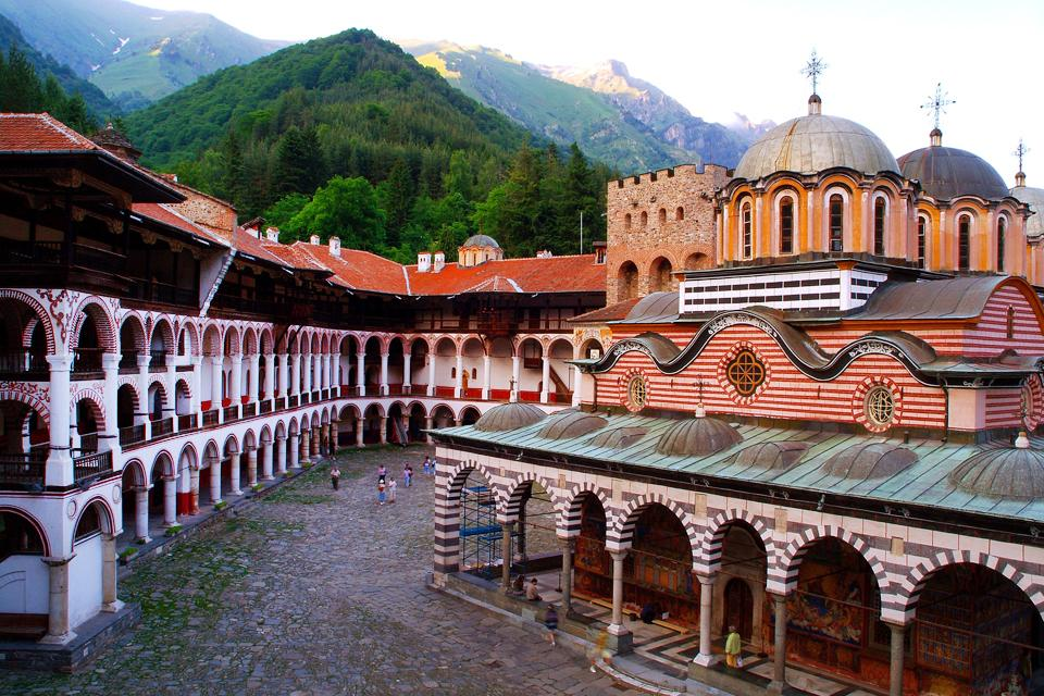 The Rila monastery , The Rila Monastery in Bulgaria , Bulgaria