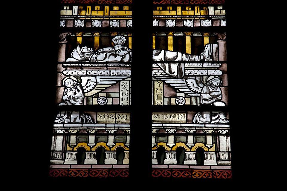 Cathédrale de Mende , Les vitraux de la cathédrale de Mende , France