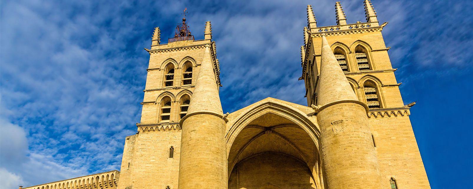 La cattedrale di san pietro di montpellier linguadoca for Montpellier citta