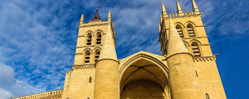 La cath�drale Saint Pierre de Montpellier