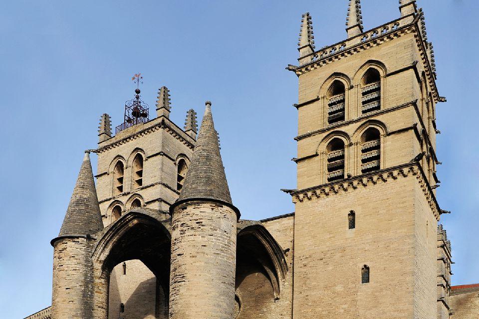 Cathédrale Saint pierre de Montpellier , Cathédrale Saint Pierre , monument historique , France