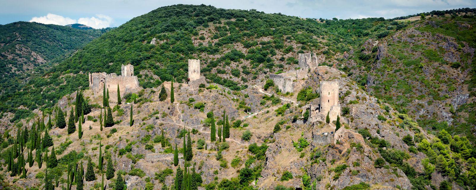 Castelli della Regione Catara , Castello di Puilaurens , Francia