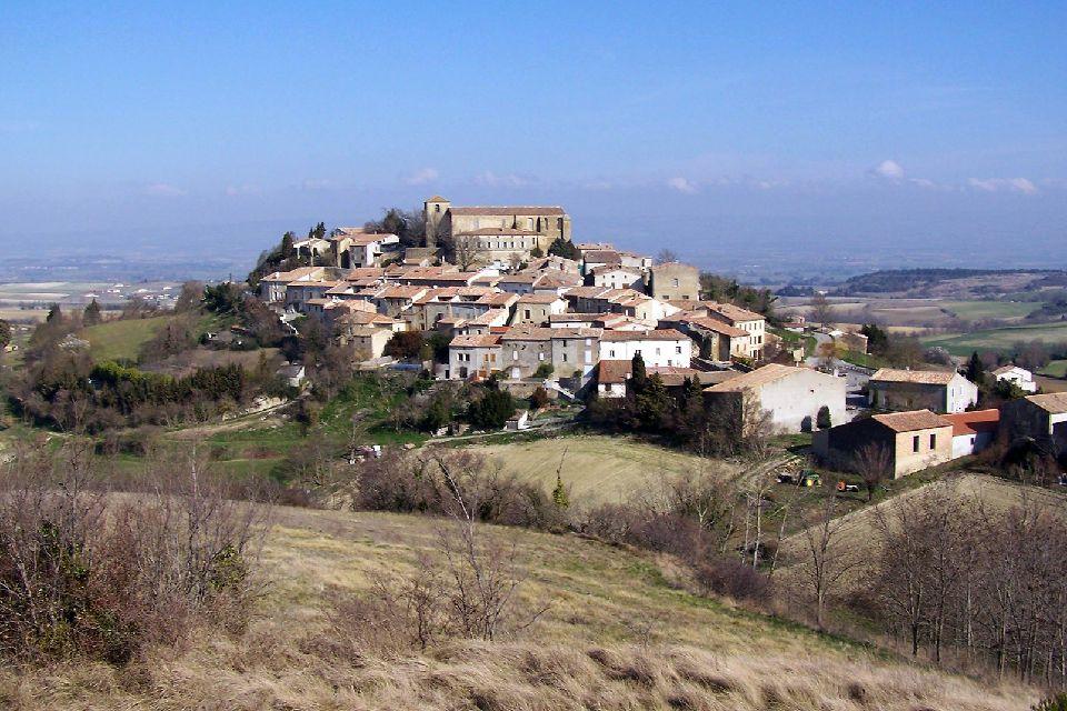Cathar Castles , The Corbières mountain range , France
