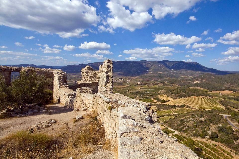Cathar Castles , The Cathar region , France