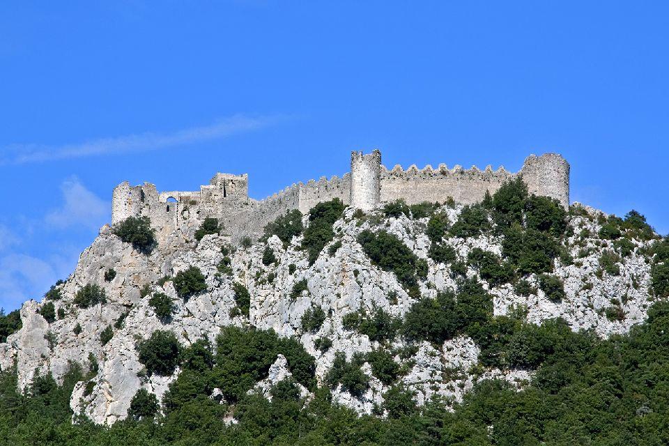 Cathar Castles , The Cather region: castles, museums, abbeys , France
