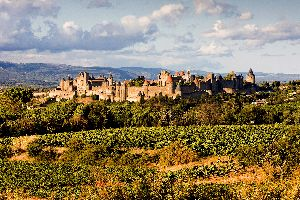 La cité de Carcassonne , Le tourisme à Carcassonne , France
