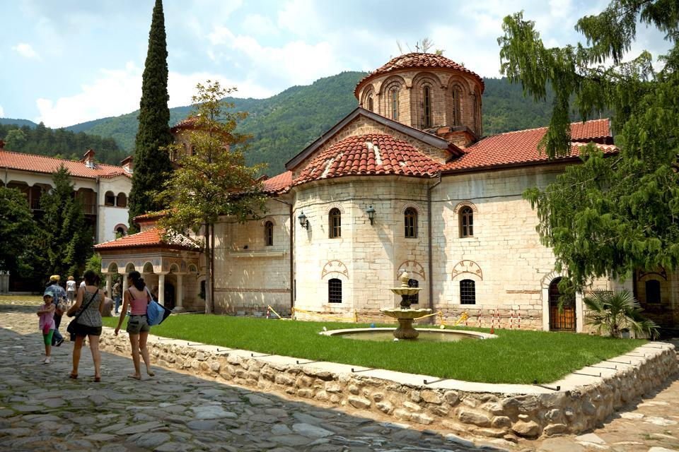 Das Kloster von Bachkovo , Kloster Bachkovo in Bulgarien , Bulgarien