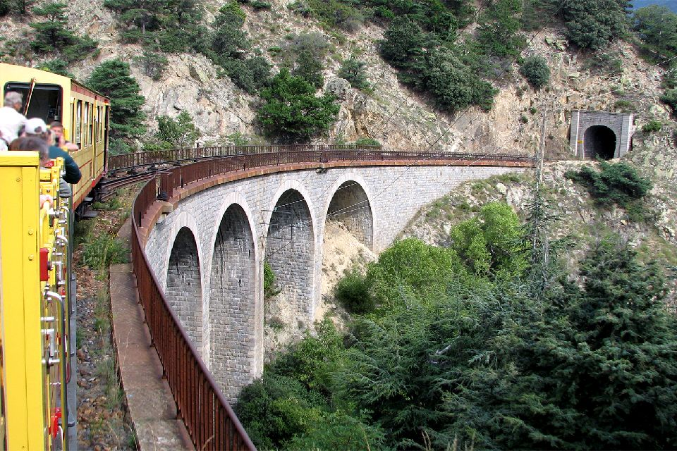 'Le Train Jaune' , The Yellow Train , France