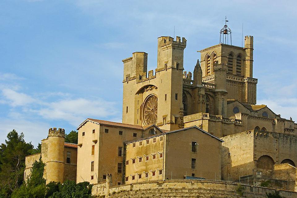Béziers : Cathédrale Saint-Nazaire de Béziers - France