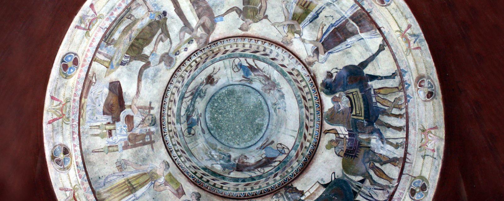 La tombe thrace de Kazanlak , Bulgarie