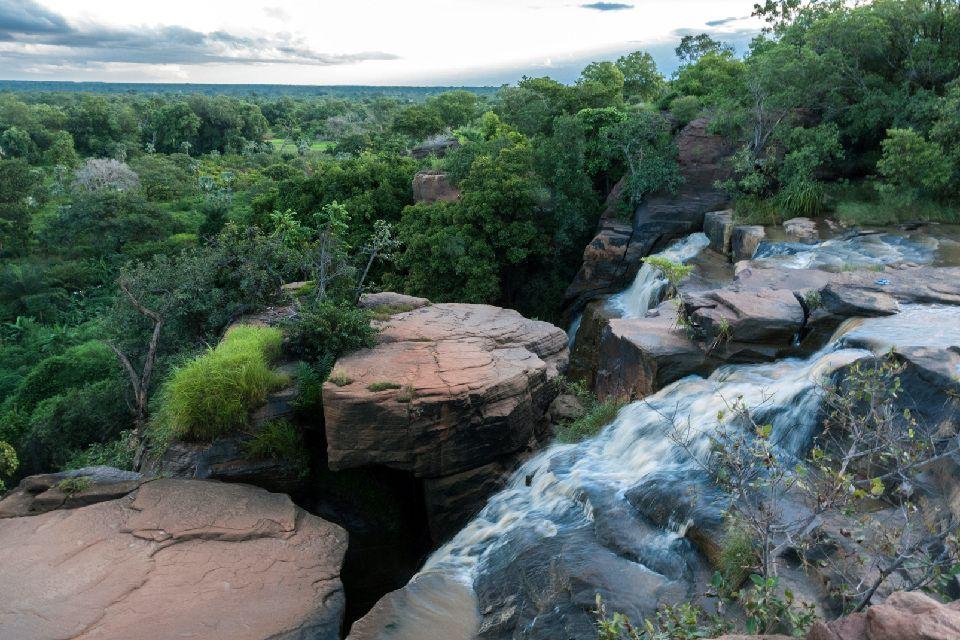 Les chutes de Banfora , Les chutes de Karfiguéla , Burkina Faso