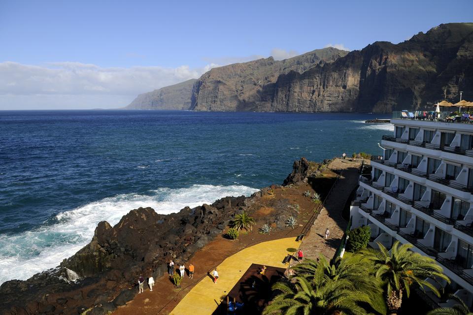 Tenerife , Los Gigantes , Extraordinaire Los Gigantes , Espagne