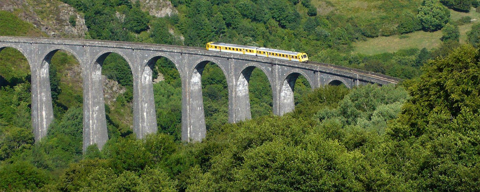 Treno turistico dell'Alta Alvernia  , Francia