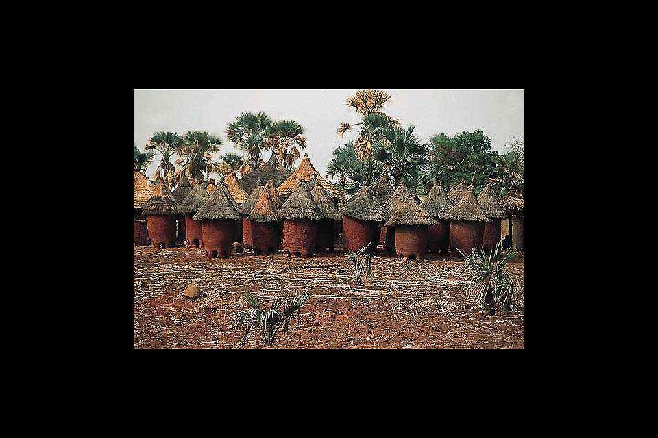 The outback villages , Burkina Faso
