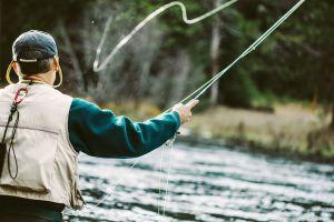 La pesca , La pesca en Cantal , Francia
