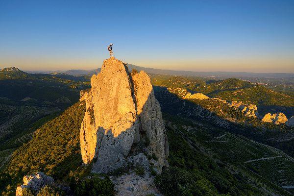 Rock climbing in the Lozère , Rock climbing in Lozère , France