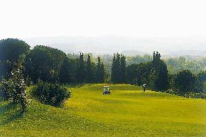 Le golf de Carcassonne , France