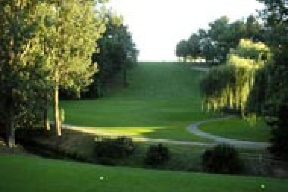 El golf de Carcassonne , Francia