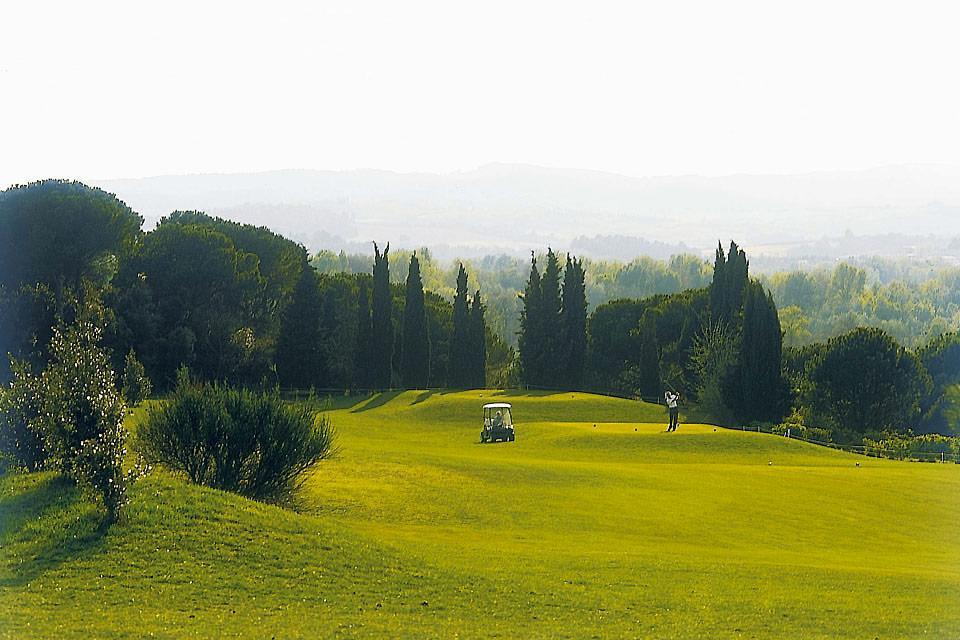 El golf de Carcassonne , El campo de golf de Carcasona , Francia