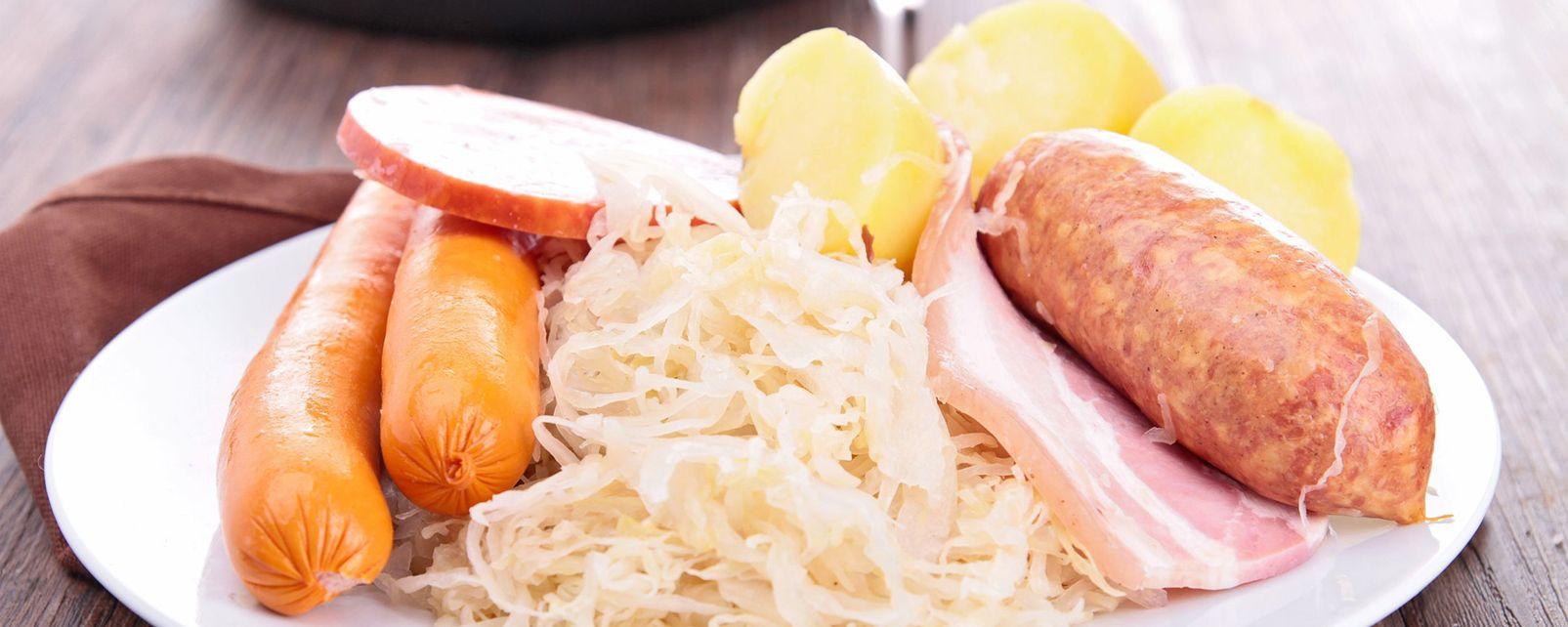 La choucroute , La choucroute d'Alsace , France