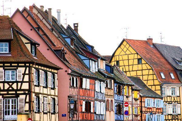 Le abitazioni a a graticcio , Le abitazioni a graticcio , Francia