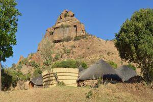 Les arts et la culture, afrique, afrique du sud, africain, sotho, ethnie, hutte, case, culture, habitation