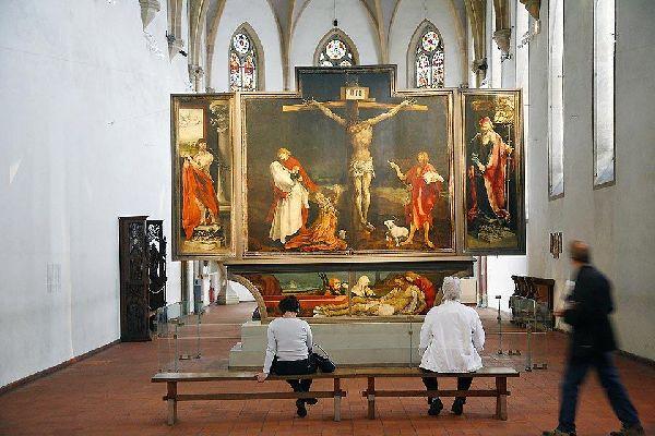 Il museo di Unterlinden , Il retablo d'Issenheim , Francia