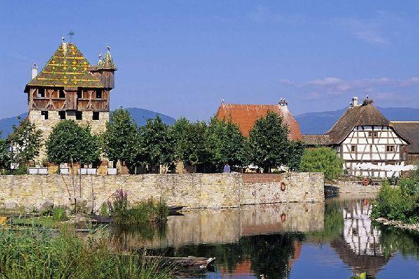 L'ecomuseo d'Alsazia , Vista d'insieme dell'ecomuseo di Alsazia , Francia