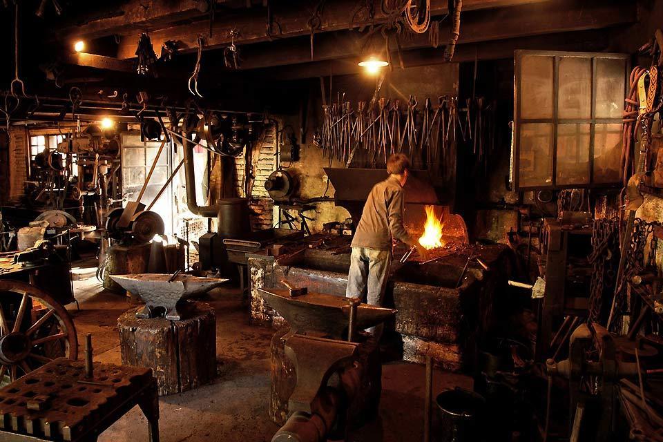 L'écomusée d'Alsace , La forge et le forgeron , France
