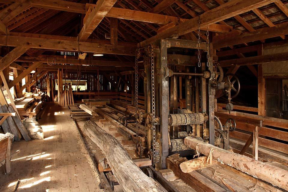 L'écomusée d'Alsace , L'atelier du bois , France