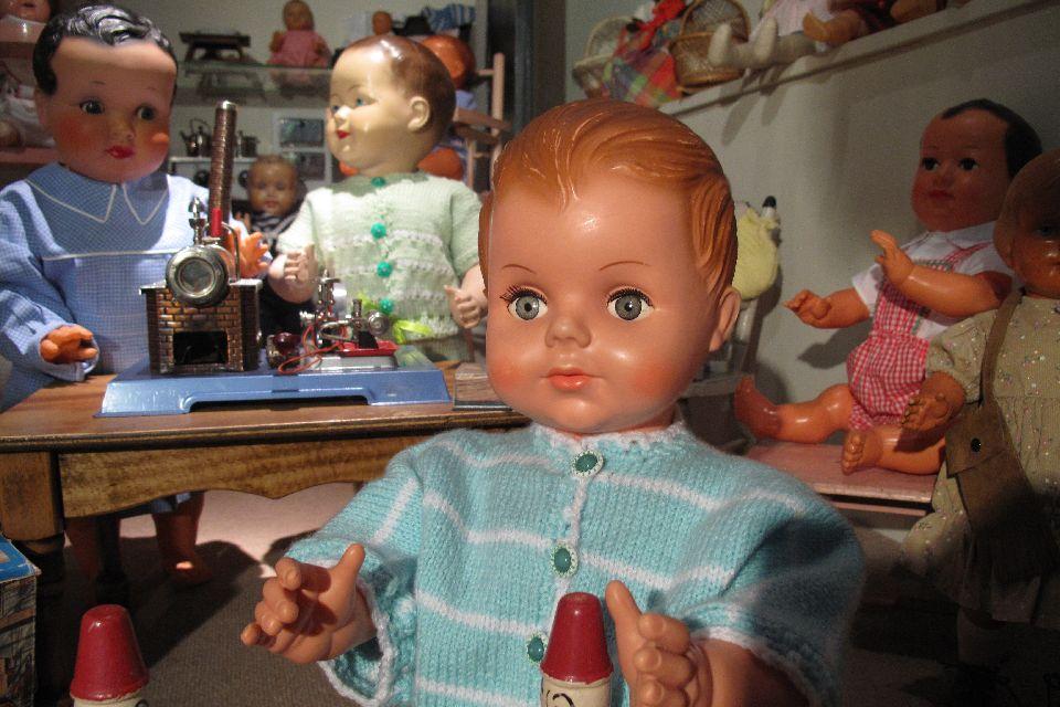 Il museo del giocattolo di Colmar  , I bambolotti del museo , Francia