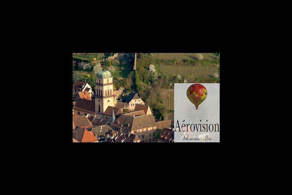 Volo in mongolfiera , un'altra visione del patrimonio , Francia