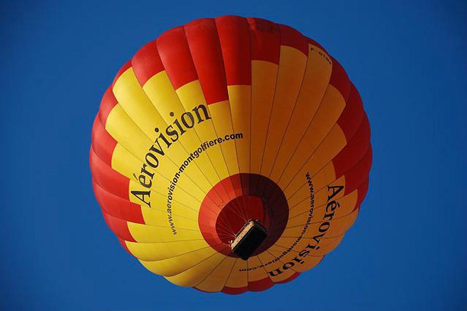 Volo in mongolfiera , Durante il volo , Francia