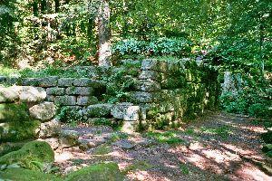 Le Mur Païen , Ce qu'il reste du Mur Païen , France