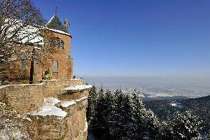 Le Mont Saint-Odile , Le Mont Saint-Odile. , France
