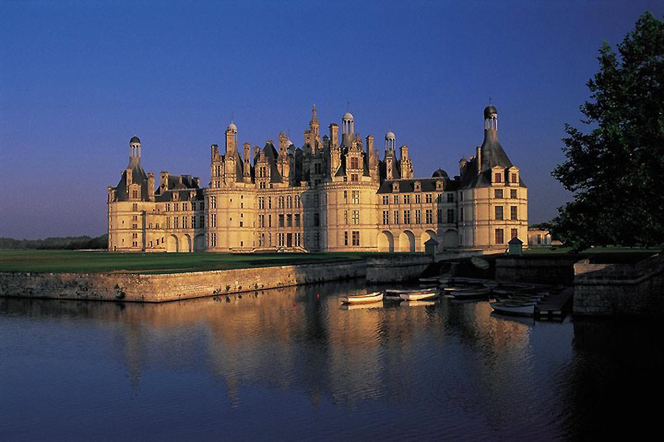 Castello di Chambord , Chambord, la follia di Francesco I , Francia
