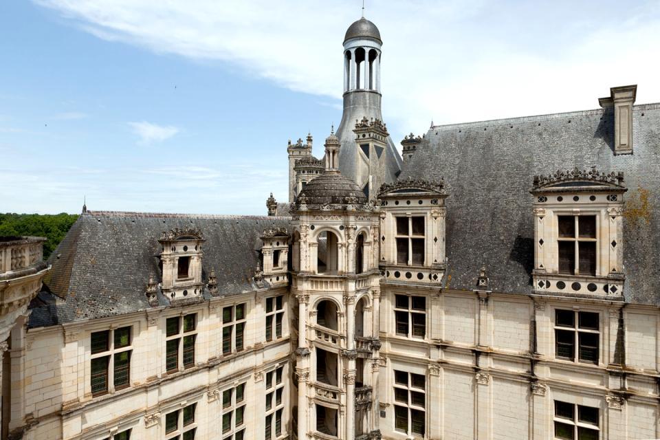 Castello di Chambord , Un vasto parco , Francia