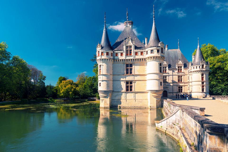 Ch teau d 39 azay le rideau centre france - Les jardins de la renaissance azay le rideau ...