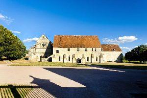 Abbaye de Noirlac , Le cloître, galerie Est , France