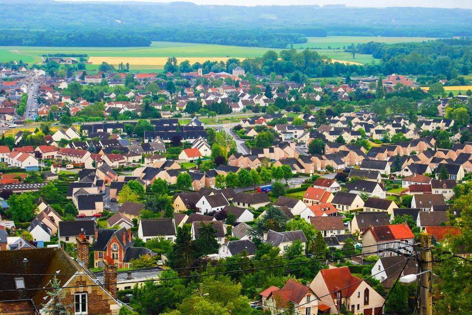 El Aisne de los cinco paisajes , Francia